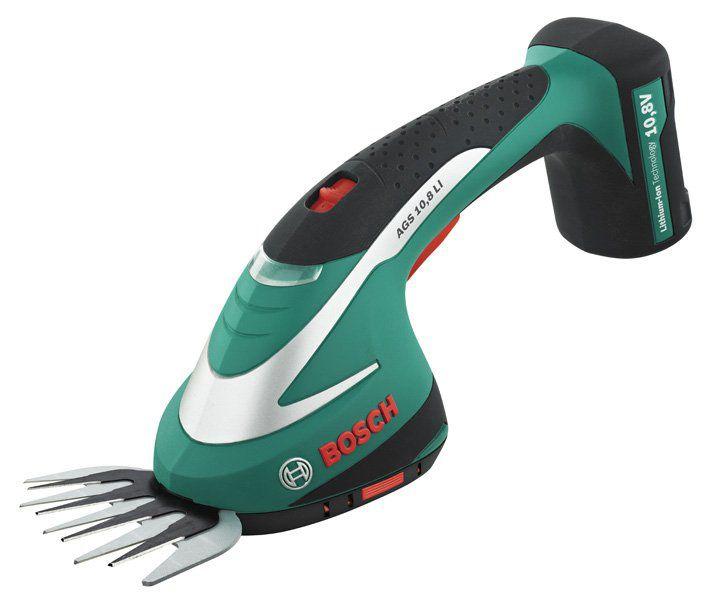 BOSCH AGS 10,8 LI nůžky na trávu