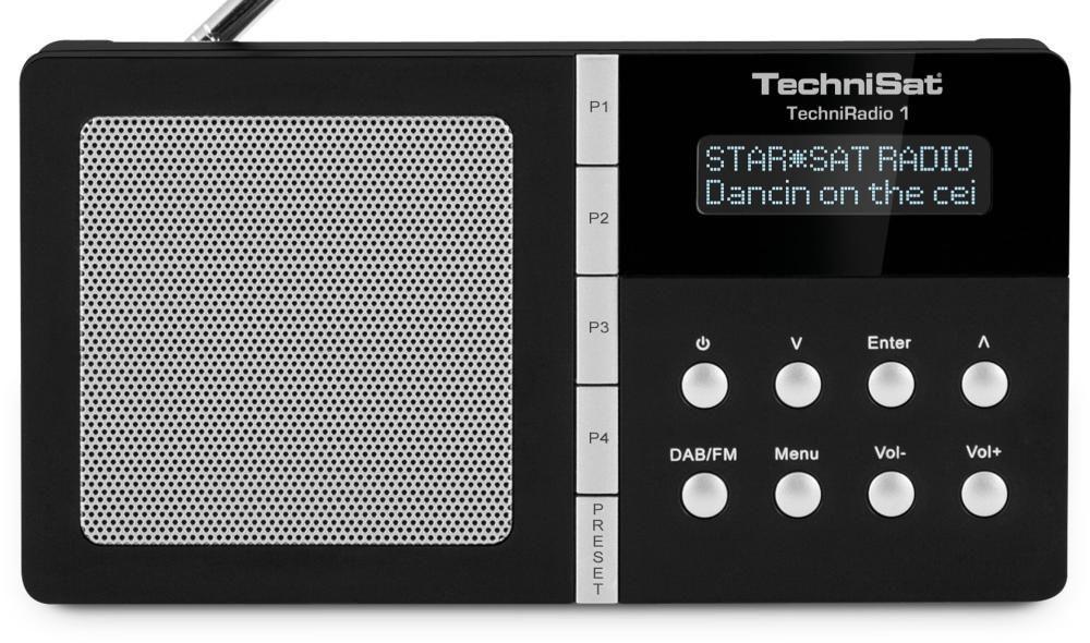 TechniSat TechniRadio 1 (černé)