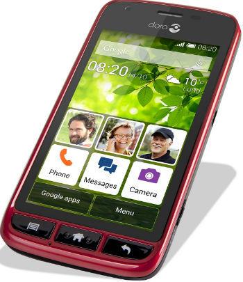 Doro Liberto 820 Mini (červený)