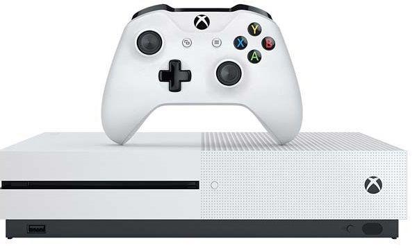 Microsoft Xbox One S 1 TB (bílá) + FIFA 18
