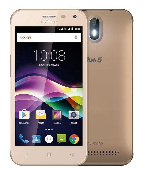 MyPhone Fun 5 zlatý