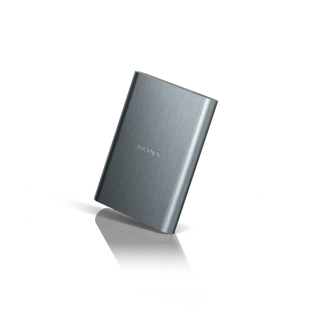 """SONY HDD 2.5 """"2 TB USB 3.0 stříbrný hliníkový, externí harddisk"""