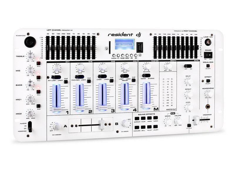Resident DJ Kemistry 3 bílý