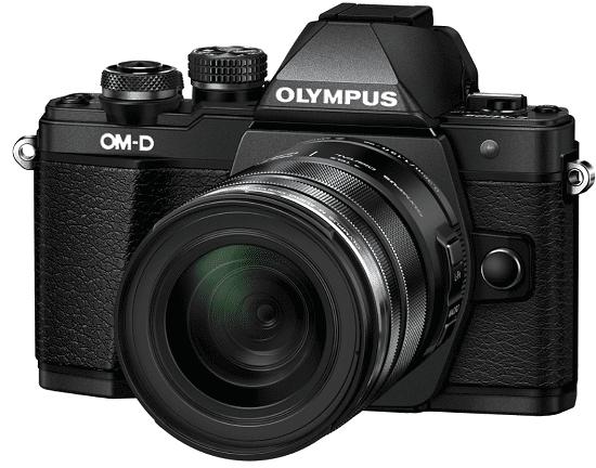 Olympus E-M10 II + M.ZUIKO ED 12-50mm f/3,5-6,3, černá