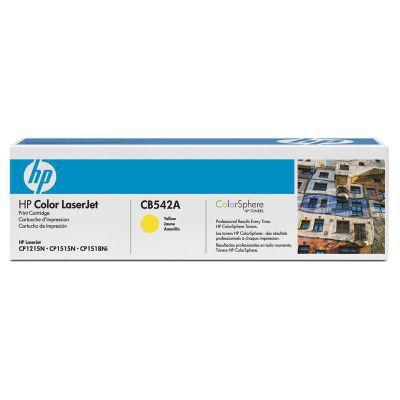 HP CB542A - toner Yellow pro CLJ CP1215/1515, 1400 stran