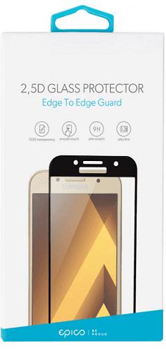 Epico 2.5D tvrzené sklo pre Samsung Galaxy J5 2017, černé