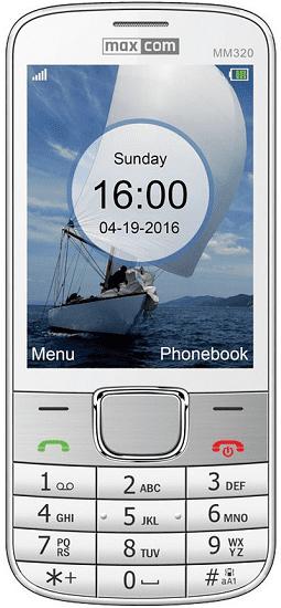Maxcom MM320 bílý