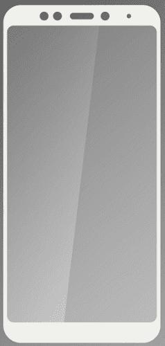 Qsklo sklo pro Xiaomi RedMi 5 Plus, bíle