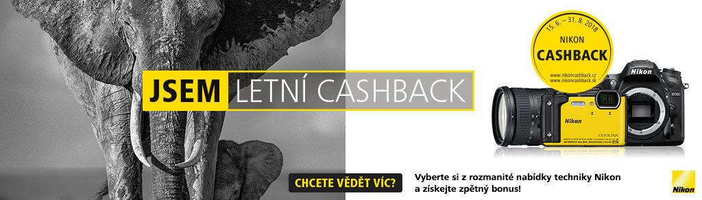 Letní Nikon Cashback až 7 500 Kč