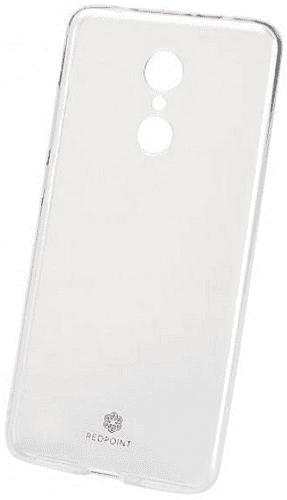Redpoint silikonové pouzdro Exclusive pro Xiaomi Redmi Note 5+, transparentní