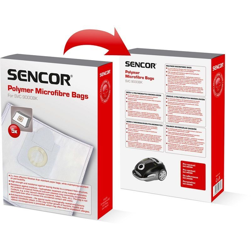 Sencor SVC 90XX sáčky do vysavače (5ks)