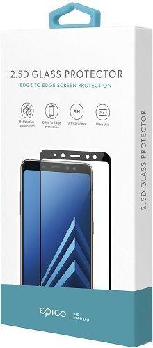 Epico 2,5D tvrzené sklo pro Samsung Galaxy A7 2018, černá