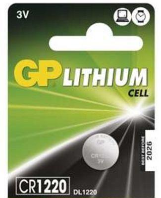 GP CR1220 (B1520), 1ks - líthiová knoflíková baterie