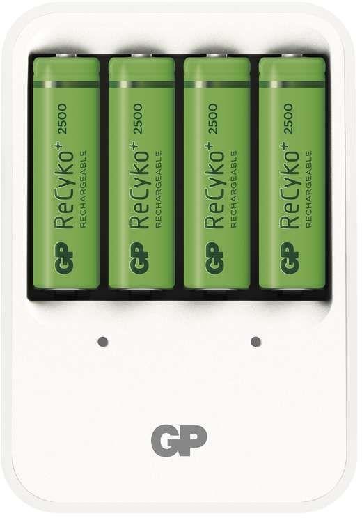 GP nabíječka baterií PB420 + 4 AA GP ReCyko+ 2500