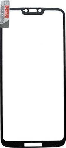 Q sklo 2,5D tvrzené sklo pro Motorola Moto G7 Power, černá