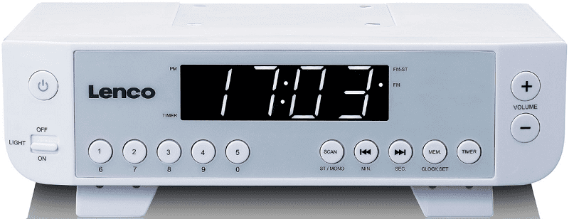 Lenco KCR-11 bílé kuchyňské rádio