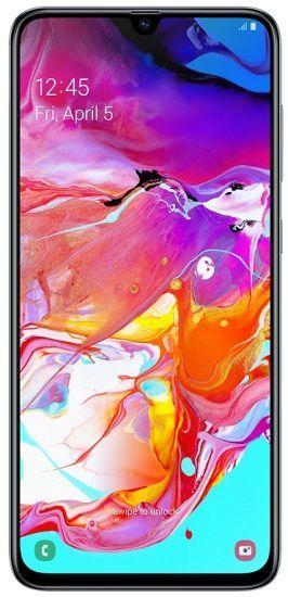 Samsung Galaxy A70 128 GB bílý