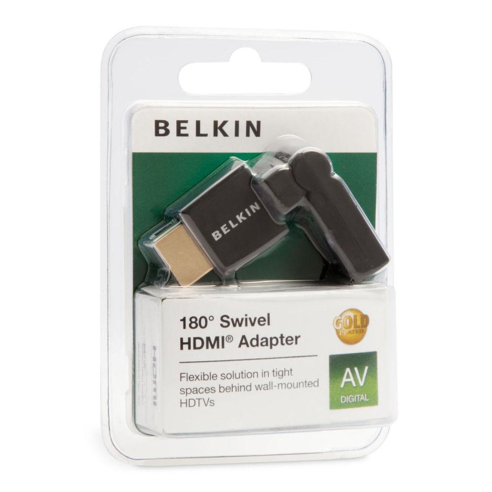 Belkin F3Y039BF - HDMI adaptér, 180°