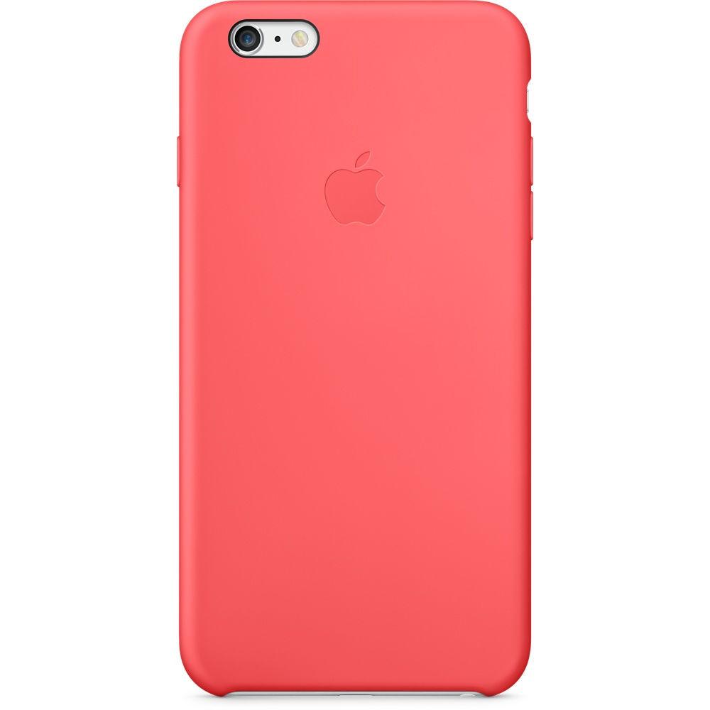 Apple iPhone 6 Plus silikonové pouzdro (růžové)