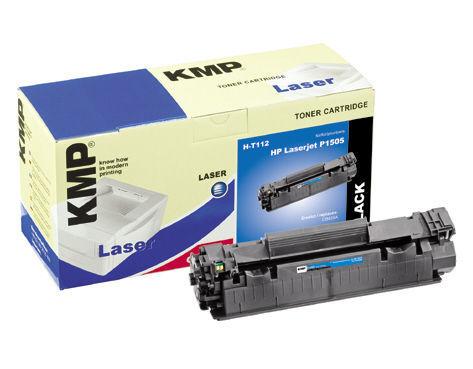 KMP H-T112 komp. recykl.toner CB436A