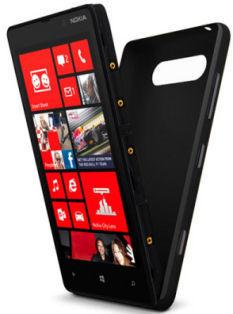 Nokia kryt CC-3041 Lumia 820 (černá)