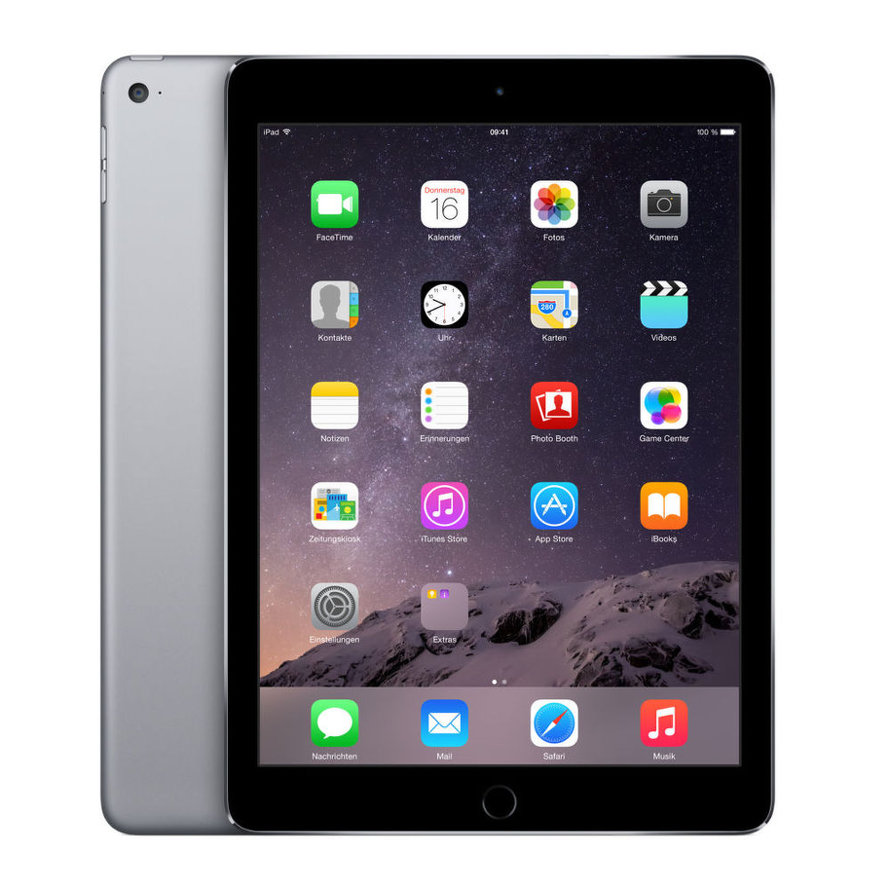 Apple iPad Air 2 128 GB WiFi (vesmírně šedý)