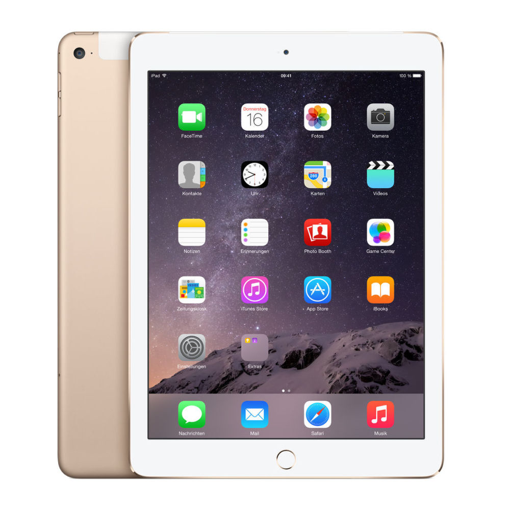 Apple iPad Air 2 128 GB WiFi + Cellular (zlatý)
