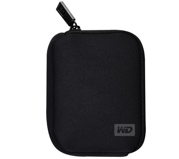 WD My Passport Carrying Case, Neoprene Black