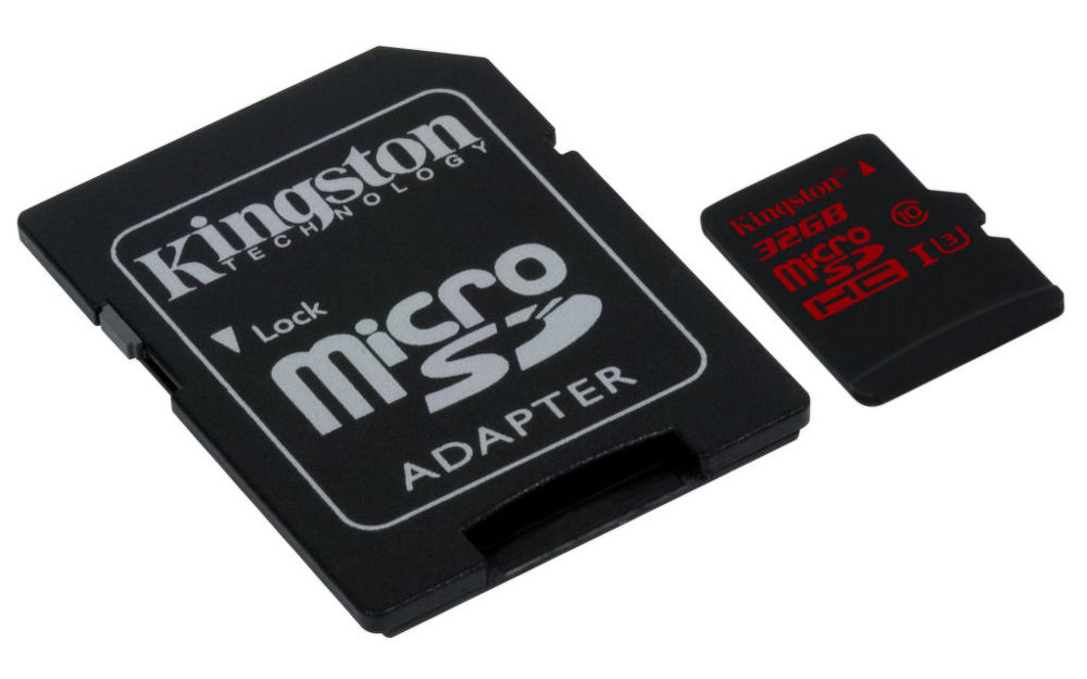 Kingston 32GB Micro SDHC UHS-I U3 - paměťová karta