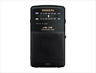 Sangean SR-35 - analogové rádio