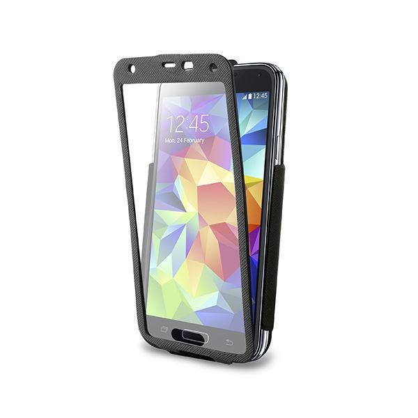 Puro flipové pouzdro pro Samsung Galaxy S5 (černé)