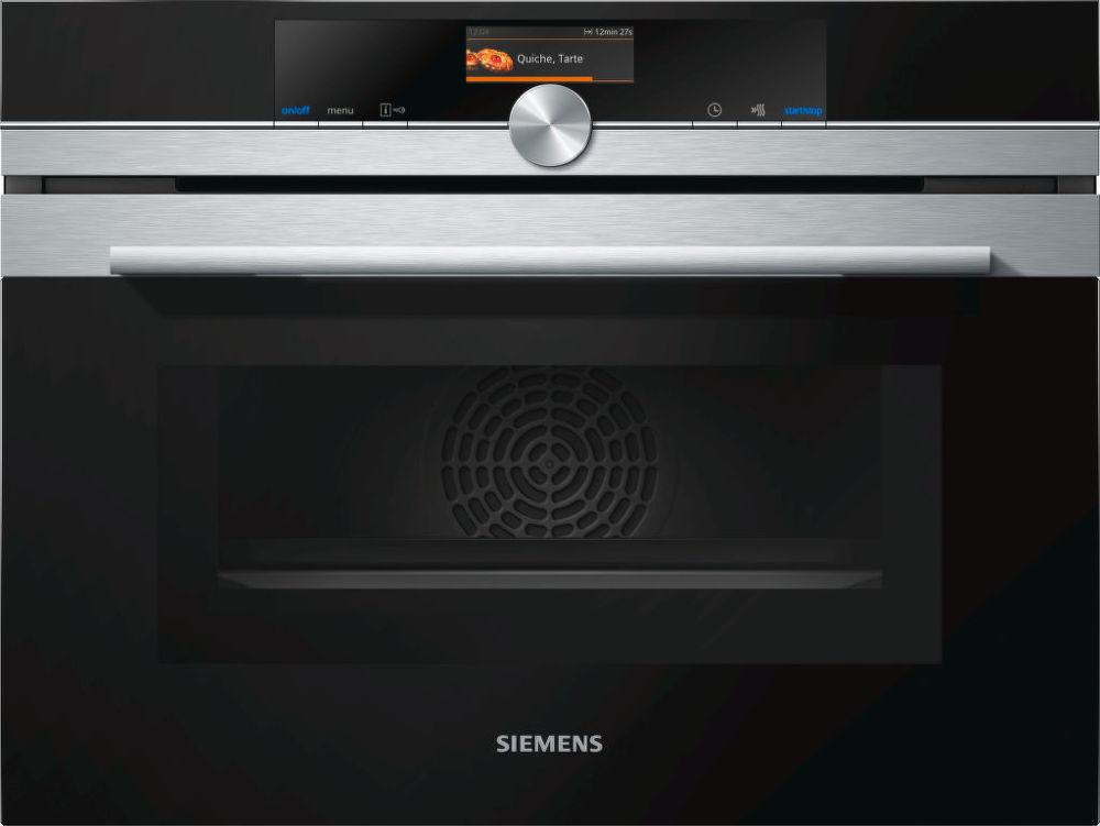 Siemens CM656GBS1 - kompaktní multifunkční trouba