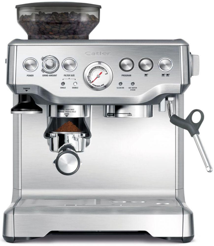 CATLER ES 8013 (stříbrná) - Pákové espresso