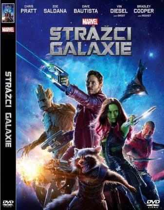 DVD F - Strážci Galaxie