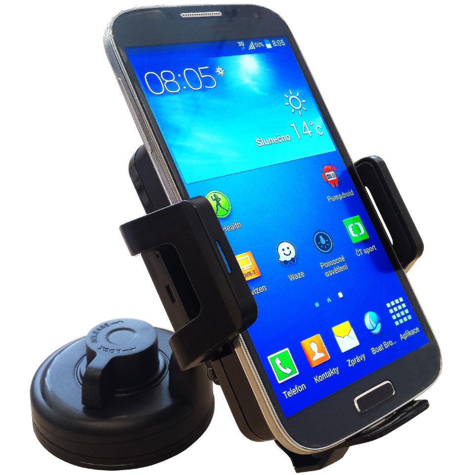 Držák pro mobilní telefony s bezdrátovou nabíječkou MK FLORIA