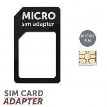 MobilNet Micro SIM adaptér (Micro SIM-SIM) (černý)