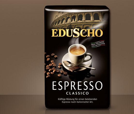 Eduscho Espresso Classico 500g - zrnková káva