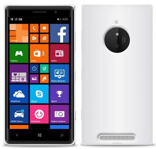 Puro silikonový kryt pro Nokia Lumia 830 (transparentní)