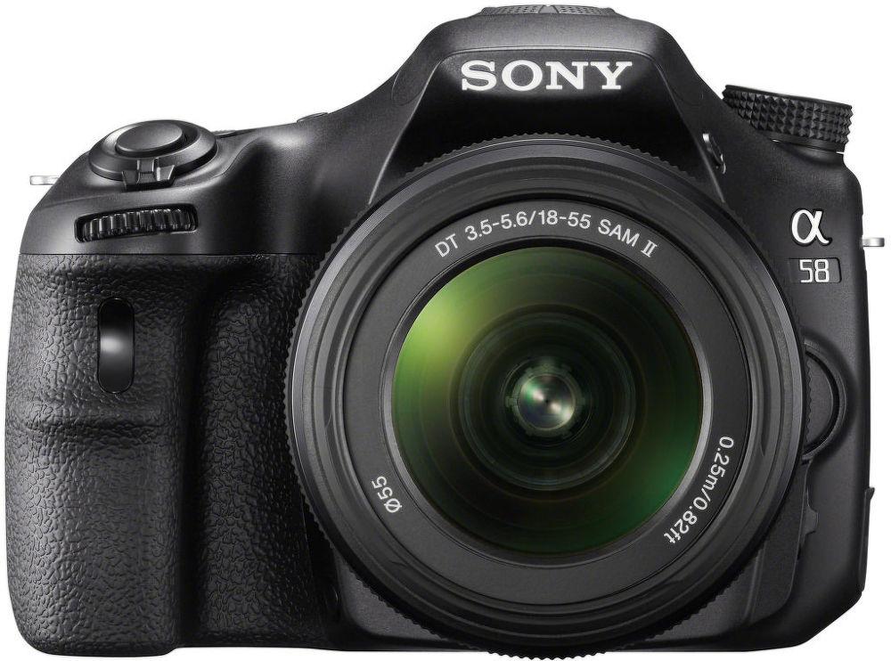 Sony SLT-A58 + SAM 18-55 II