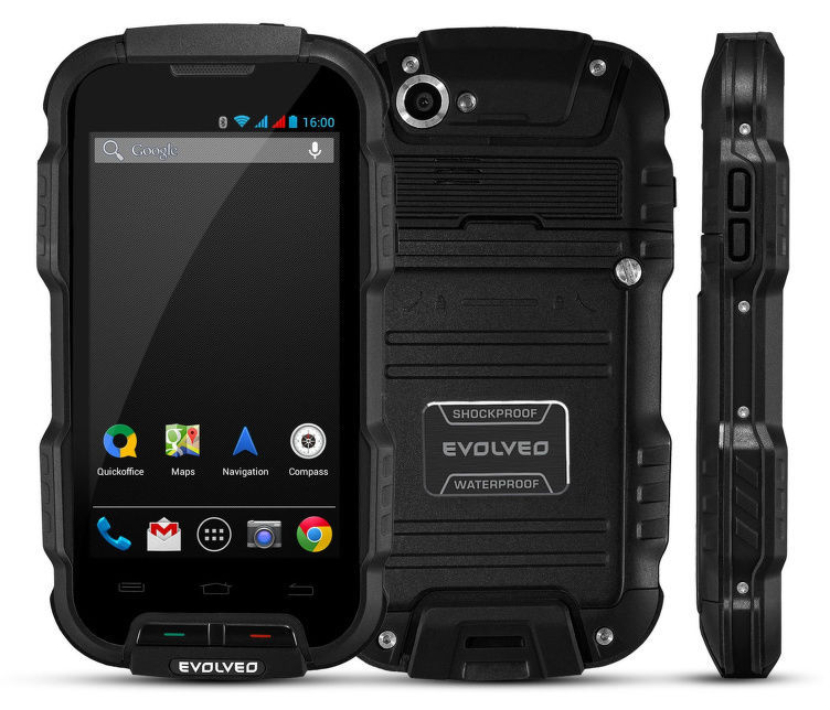 Evolveo StrongPhone Q4 (černý)