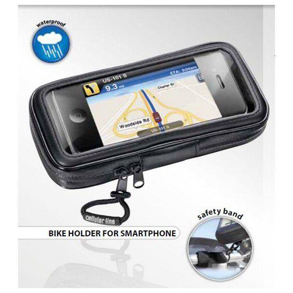 Celly Voděodolné pouzdro Interphone SM pro smartphone (černé)