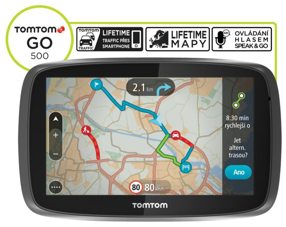 TomTom GO 500 Speak&Go Europe Lifetime