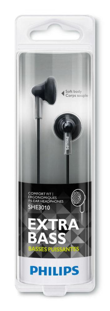 Philips SHE3010BK (černá)