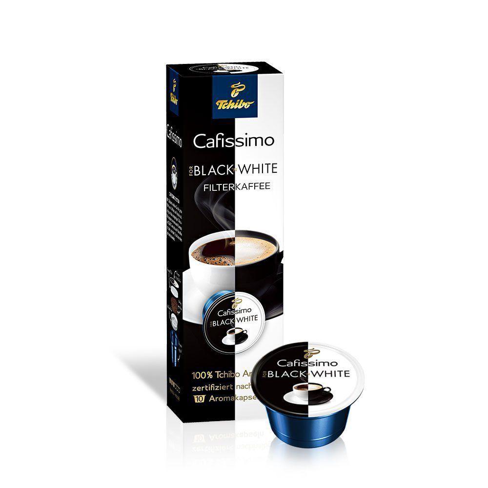 Tchibo Cafissimo Black&White 80g - kapslova káva