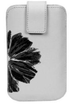 Winner pouzdro PKL 3 Flower vel. 7 (bílé / černé)