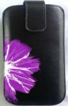 Winner pouzdro PKL 3 Flower vel. 16 (černo-fialové)