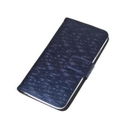 Aligator pouzdro Book Glammy vel. XL (modré)