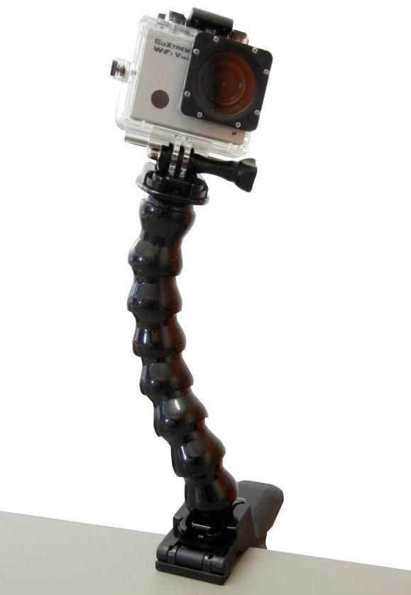 EASYPIX GoXtreme Flexi Clamp, flexibilní držák pro kamery
