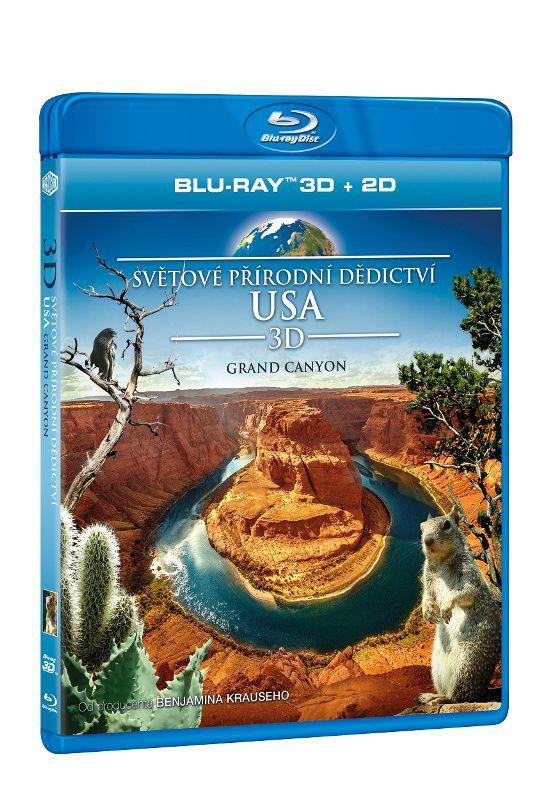 Světové přírodní dědictví: USA - Grand Canyon - 3D Blu-ray film