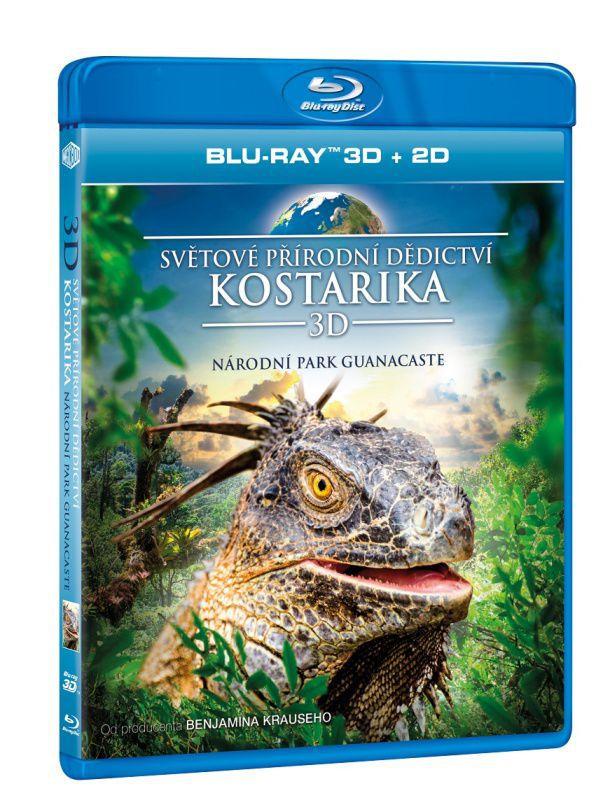 Světové přírodní dědictví: Kostarika - Národní park Guanacaste - 3D Blu-ray film